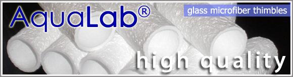 glass fiber thimbles microfiber thimbles