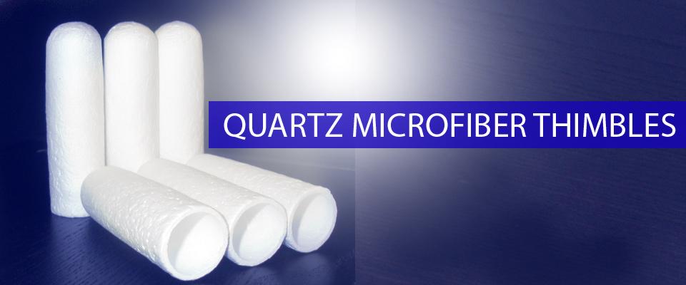 quartz microfiber thimbles quartz thimble microfiber